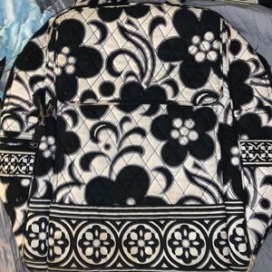 Black and white Vera Bradley bag